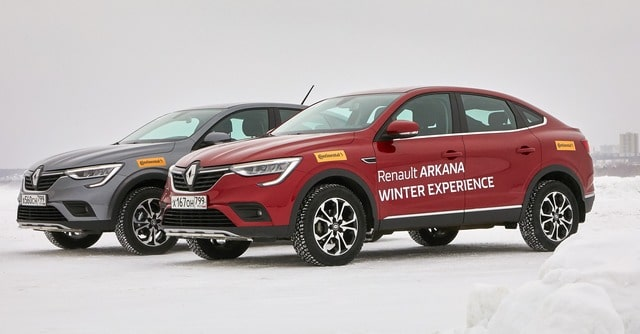 Renault Arkana Winter Experience